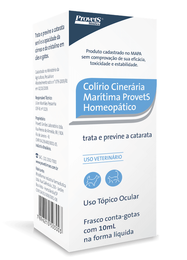 Colírio Cinerária Marítima 10ml
