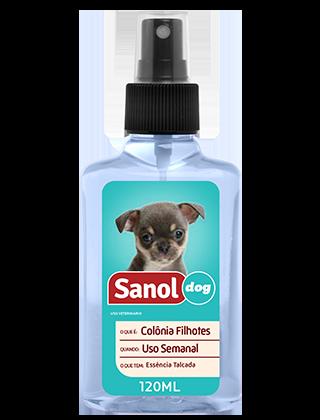 Colônia Sanol Dog Filhotes 120ml