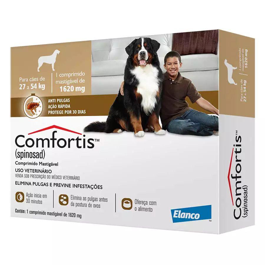 Anti-pulgas Comfortis Marrom 27 A 54kg - 1 Comprimido