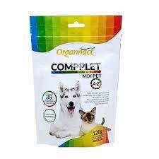 Compplet Mix Pet A-Z Pó Suplemento Vitamínico para Cães e Gatos 120 g Organnact