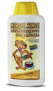 Condicionador Mersey Rinse Desembaraçador com Lanolina 500 ml