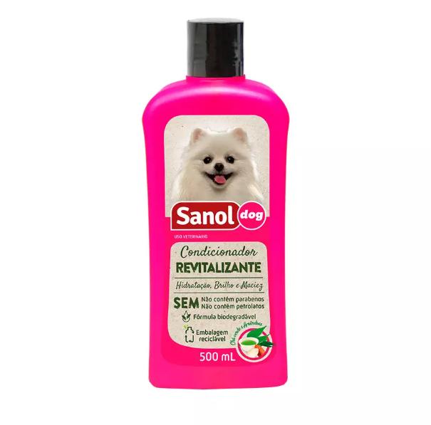CONDICIONADOR SANOL DOG REVITALIZANTE 500ML