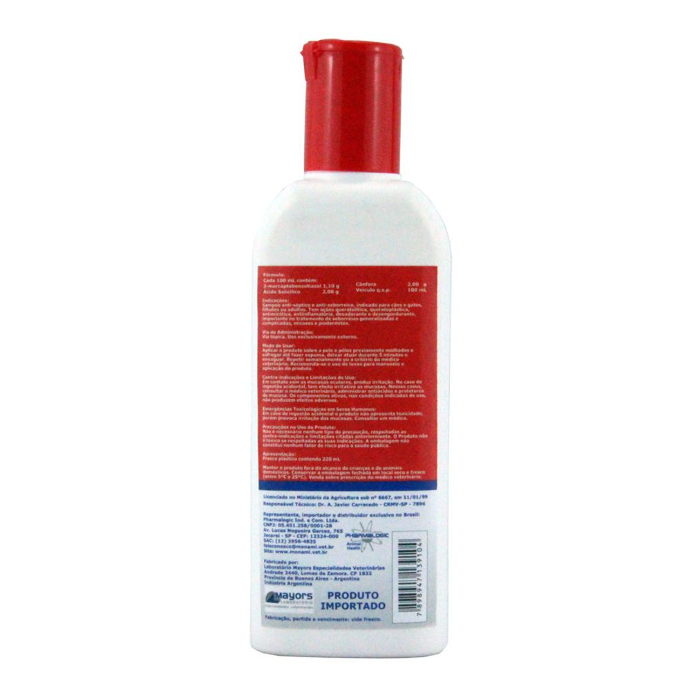 Dermodene Shampoo 220ml Mon Ami