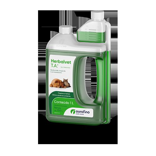 Desinfetante Bactericida Herbalvet T.A. Ourofino 1L