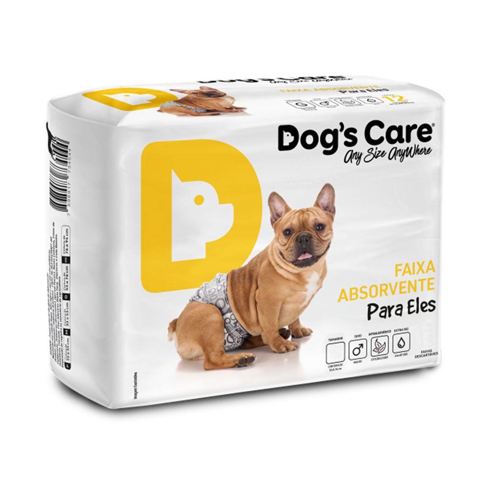 Dogs Care Fralda Descartável 12 Unidades Macho M
