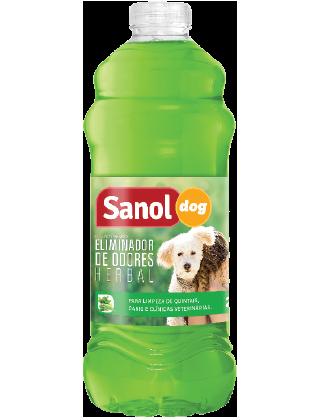 ELIMINADOR DE ODORES SANOL DOG HERBAL 2L