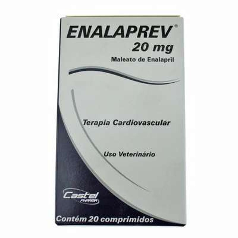 Enalaprev 20mg (Vasodilatador) - 20 Comprimidos
