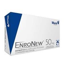Enronew 50mg com 10 Comprimidos - World
