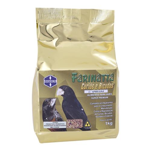 Farinatta Curiós e Bicudos – 1kg - Amgercal