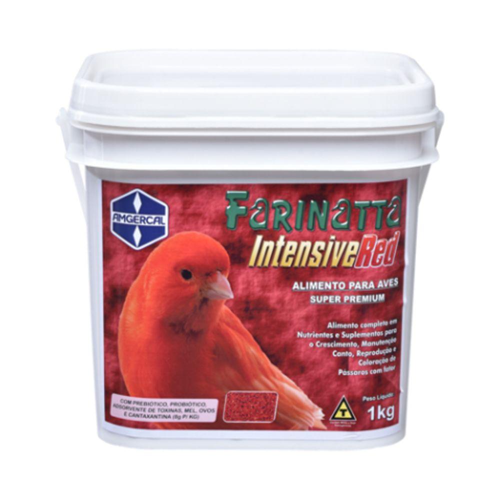 Farinatta Intensive Red – 1kg - Alimento com Fator Vermelho - Amgercal