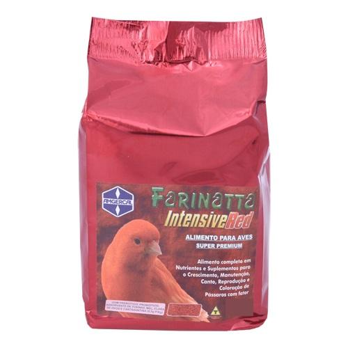 Farinatta Intensive Red  1kg - Alimento com Fator Vermelho - Amgercal