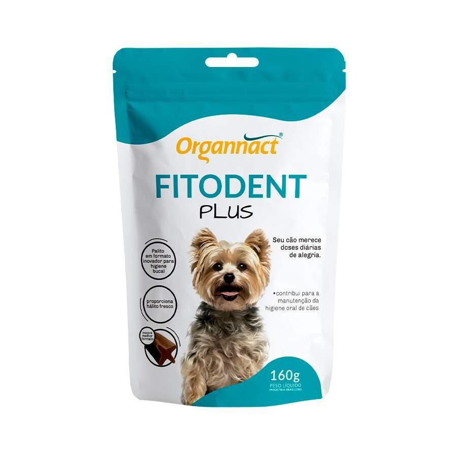 Fitoden Plus Suplemento para Higiene Oral de Cães 160 g Organnact