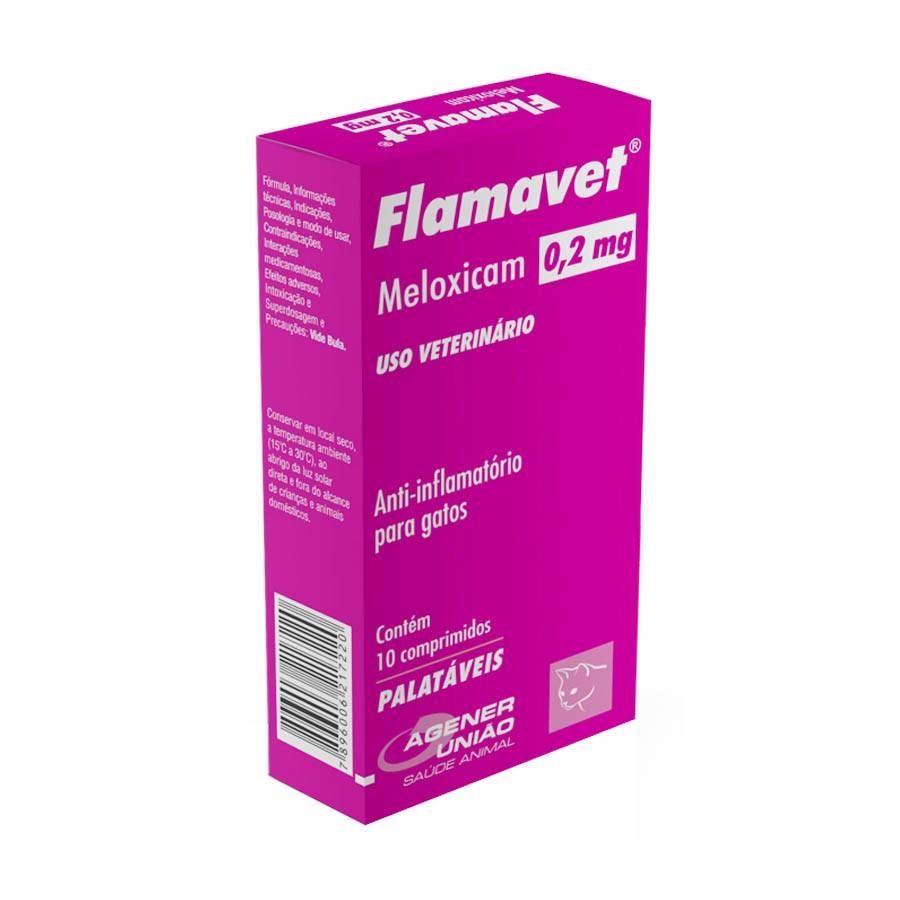 Flamavet 0,2mg 10 comprimidos