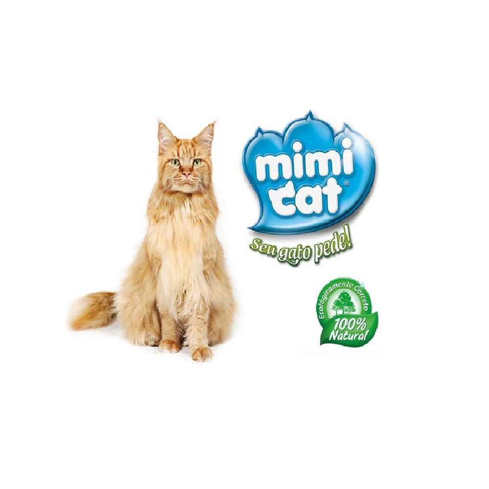 Granulado Higiênico De Madeira Ecolog Mimicat 4kg