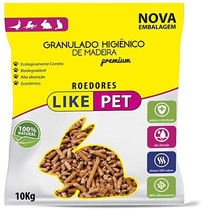 Granulado Higiênico De Madeira Like Pet - 10 Kg