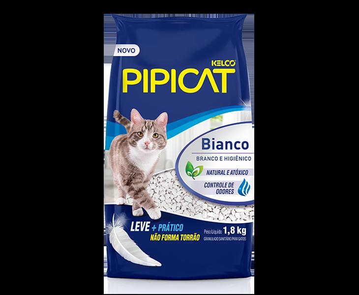 Granulado Sanitário Kelco Pipicat Bianco 1,8KG
