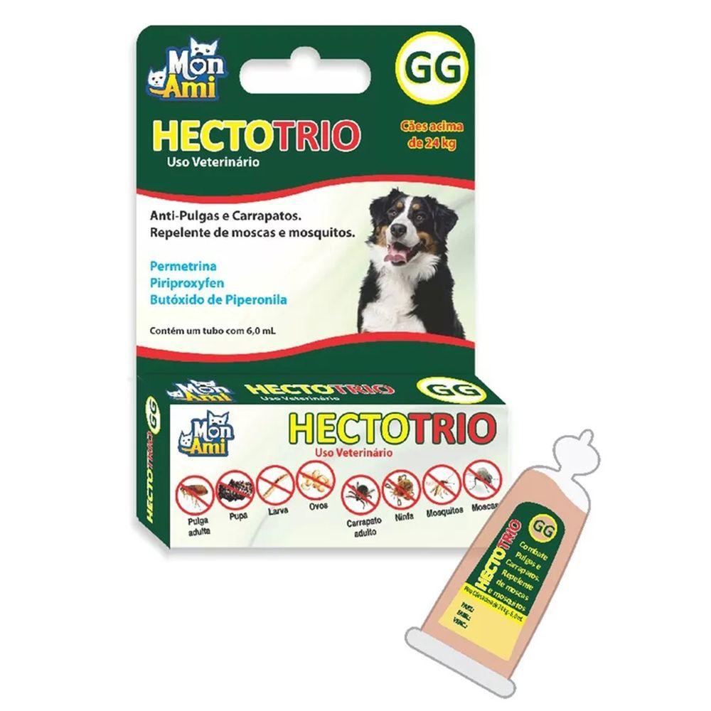 Antipulgas e Carrapatos Hectotrio GG para Cães acima de 24Kg 6ml