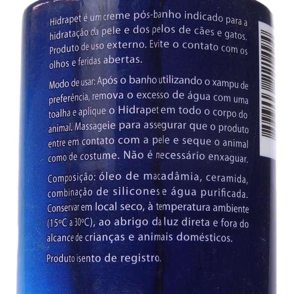 Hidrapet Creme Hidratante Agener União 500g