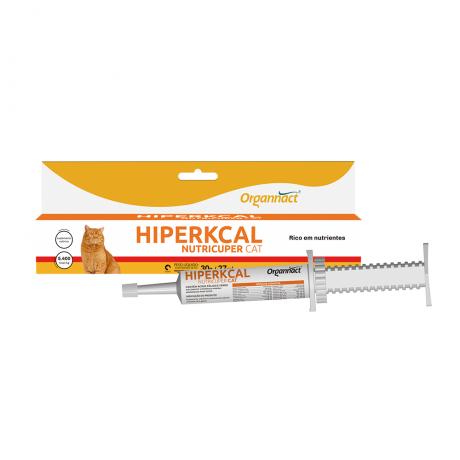 Hiperkcal Cat Suplemento Vitamínico para Gatos Organnact 27 ml