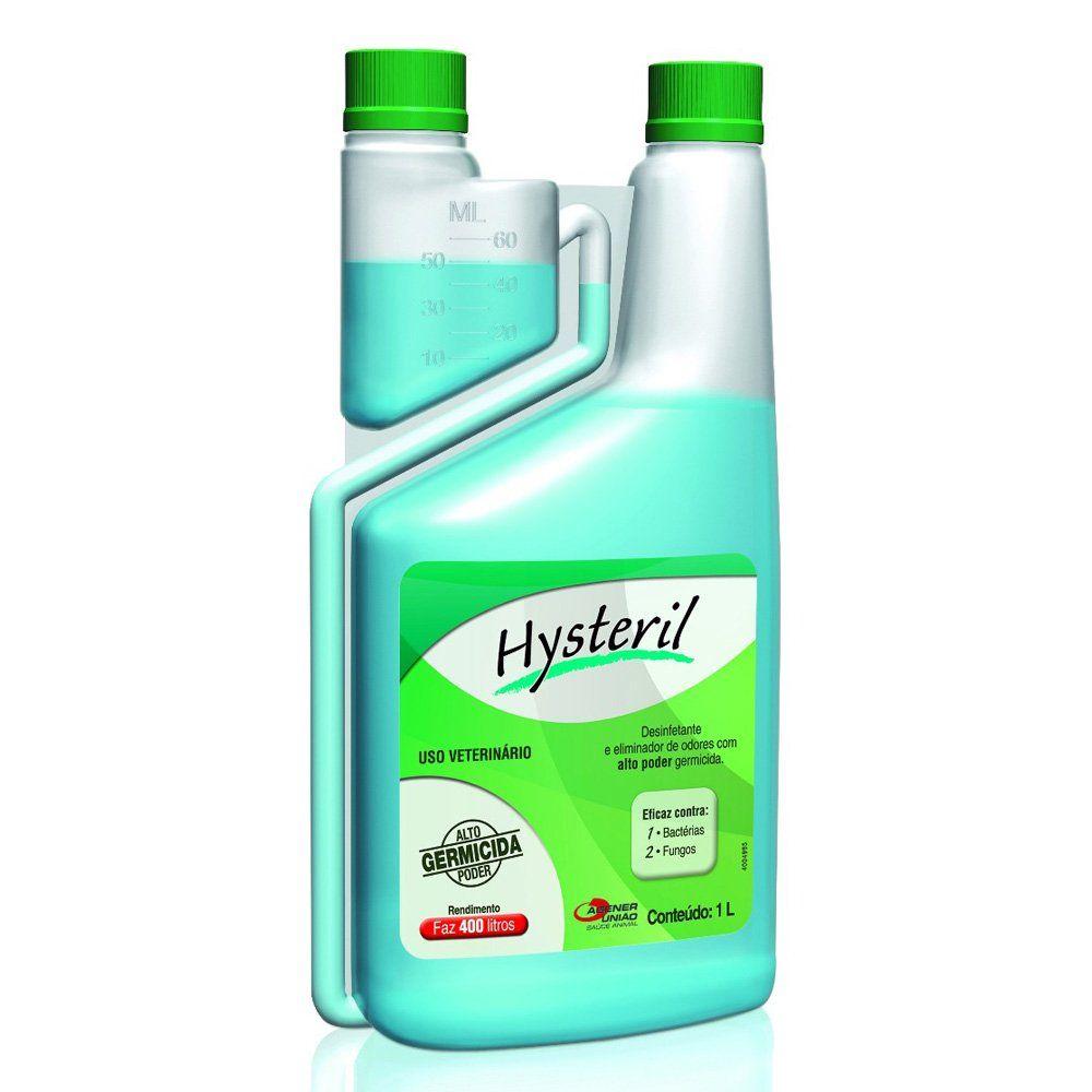 Hysteril 1 L Desinfetante E Eliminador De Odores Agener