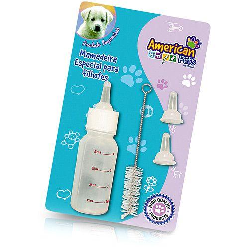 Kit Mamadeira Especial para Filhotes - American Pets