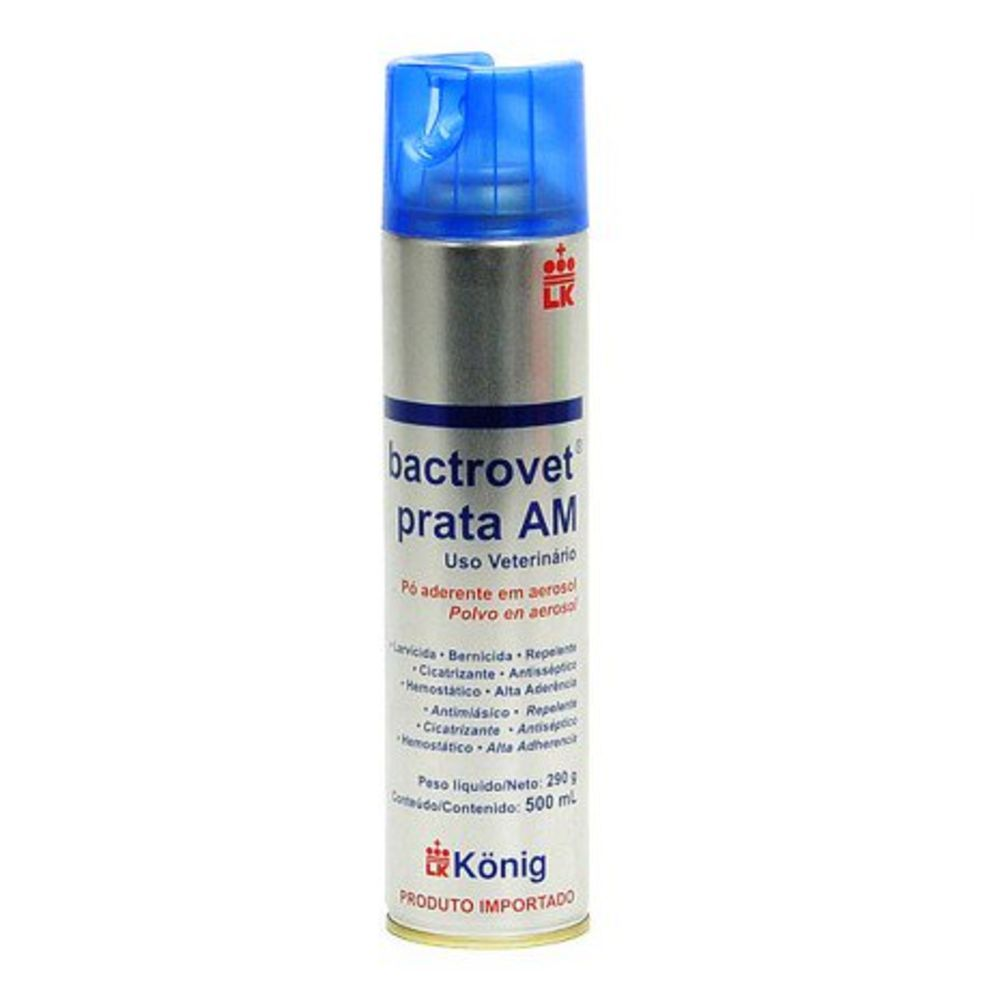 Larvicida Spray Konig Bactrovet Prata Am 500ml