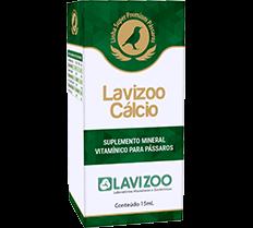 Lavizoo Cálcio 15ml Suplemento para Pássaros