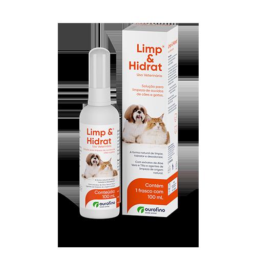 Limp & Hidrat Solução para Limpeza de Ouvido Ourofino 100ml