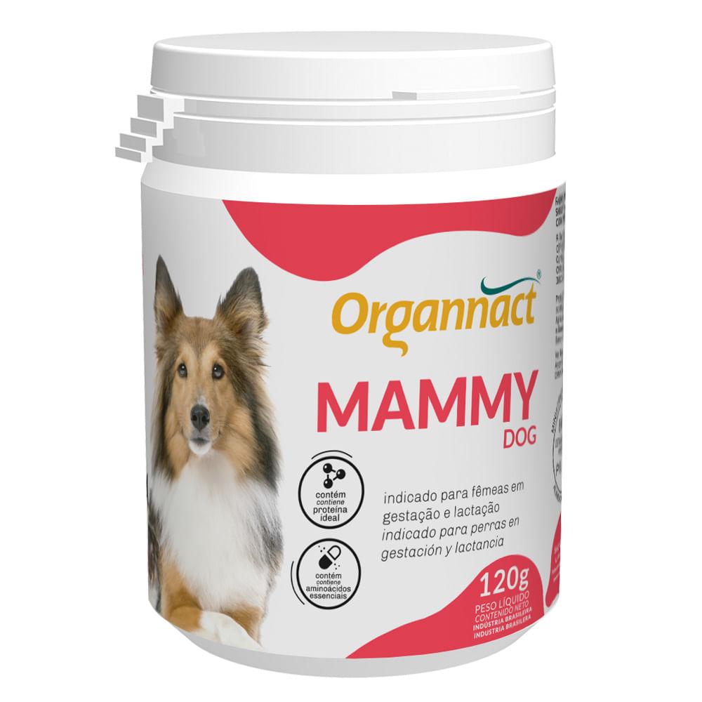 Mammy Dog Suplemento Alimentar para Cadelas em Lactação e Gestação 120 g Organnact