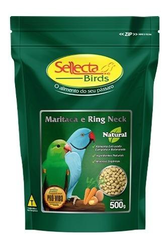 Maritaca e Ring Neck Natural 500g - Sellecta Birds
