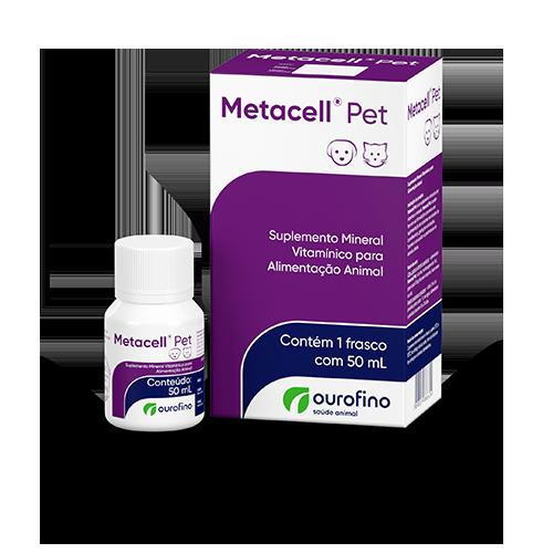 Metacell Pet Suplemento Mineral Vitamínico Ourofino 50ml