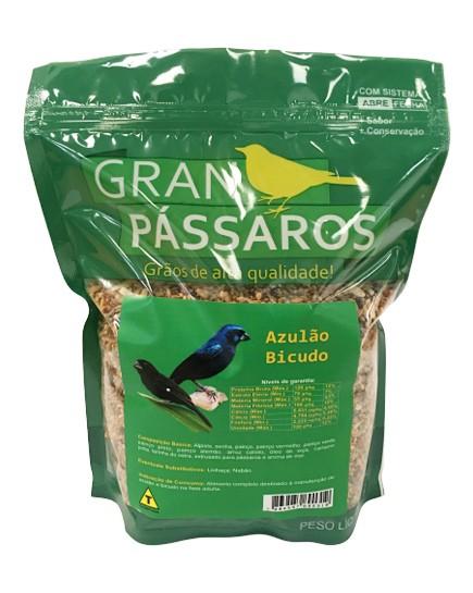 Mistura de Azulao Gran Pássaros 500g