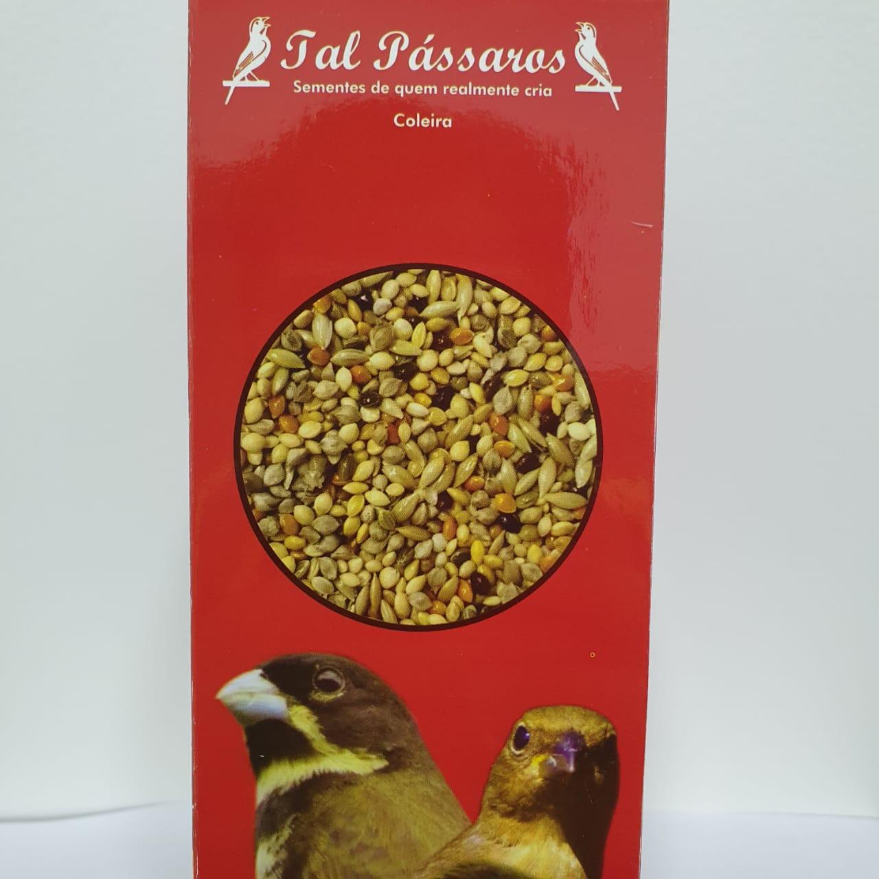 Mistura para Coleira Super Premium 500g Caixa – Tal Pássaros