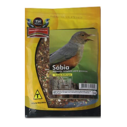 Mistura para Sabiá 500g – Tal Pássaros