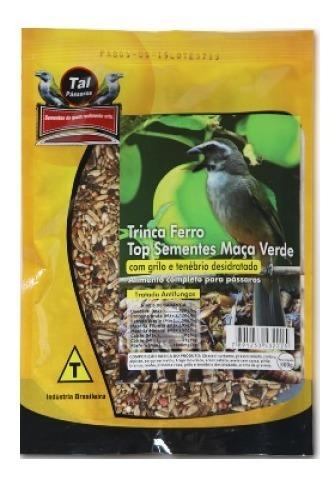 Mistura para Trinca Ferro Top Sementes Maçã Verde 500g  Tal Pássaros