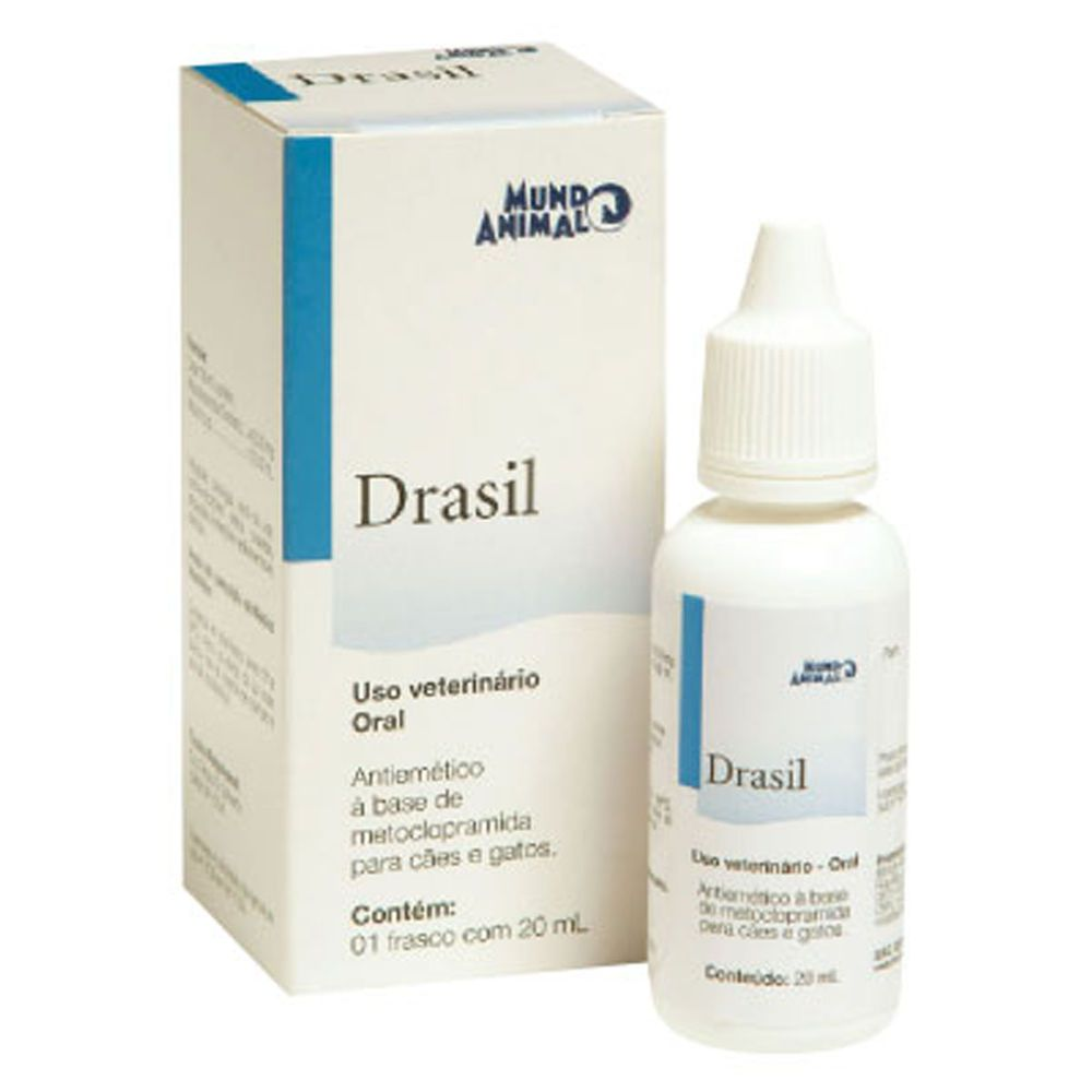 Mundo Animal Drasil Gotas 20ml