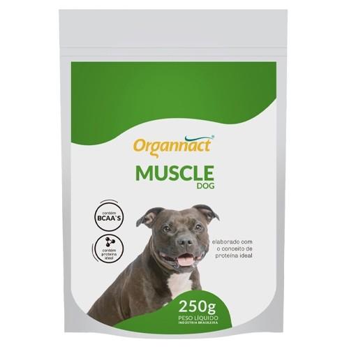 Muscle Dog Suplemento Vitamínico para Cães 250g Organnact