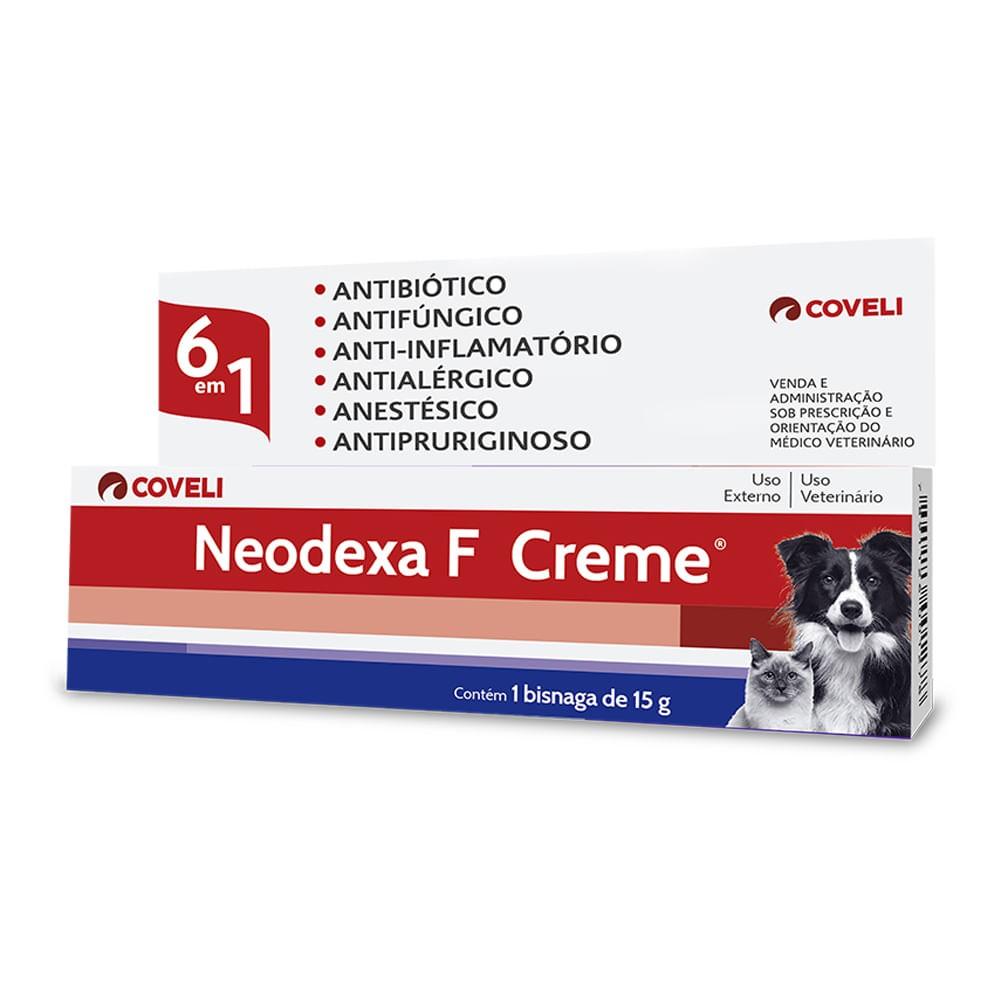 Neodexa F Creme 15g Coveli