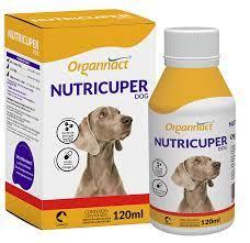 Nutricuper Dog Suplemento Vitamínico para Cães 120 ml Organnact