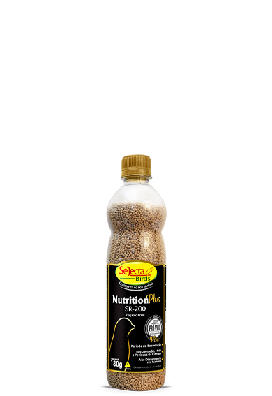 Nutrition Plus SR-200 - Pequeno Porte 180g - Sellecta Birds