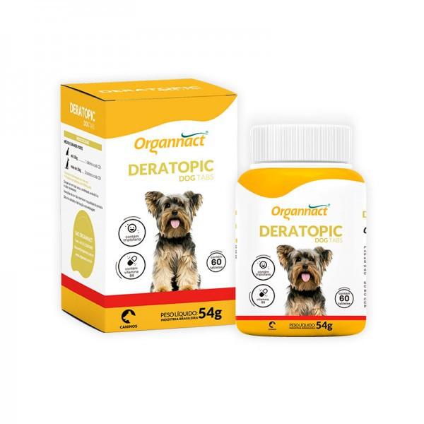 Organnact Deratopic Dog Tabs Suplemento 54g
