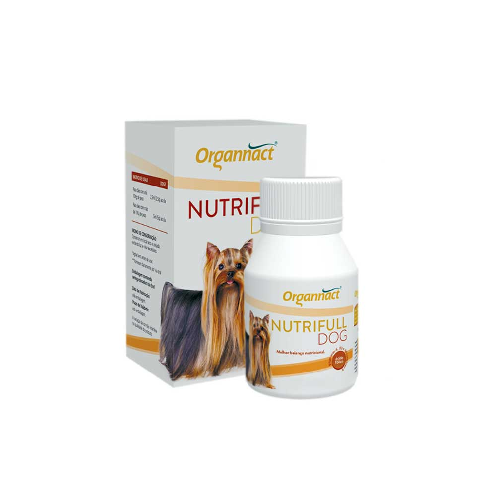 Nutrifull Dog Suplemento Vitamínico para Cães 30 ml Organnact
