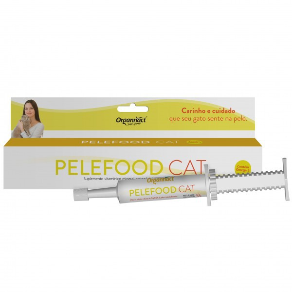 Pelefood Cat Suplemento Vitamínico para gatos 35 g Organnact