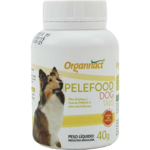 Organnact Pelefood Dog Tabs Suplemento 40g