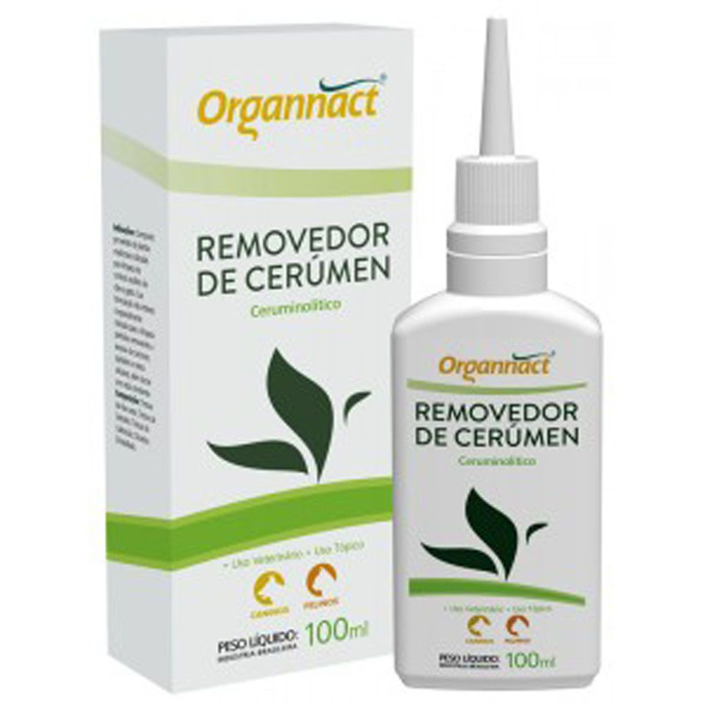 Organnact Removedor De Cerúmen 100ml