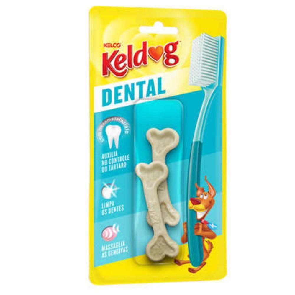 Osso para Cães Keldog Dental Francês c/ 2 Unidades
