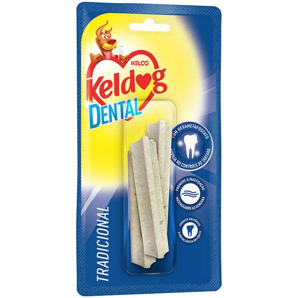 Osso para Cães Keldog Dental Y c/ 3 Unidades