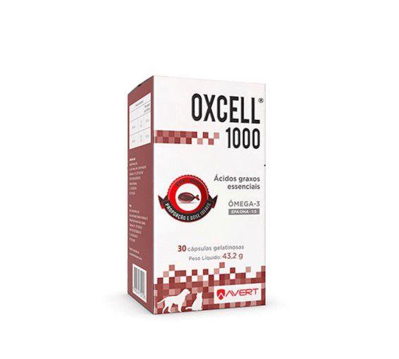 Oxcell 1000 com 30 Cápsulas - Avert
