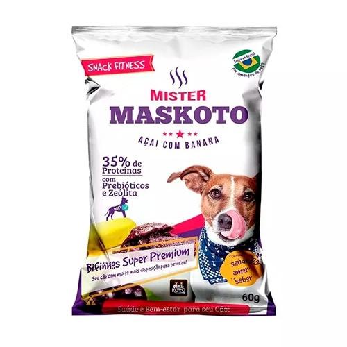 Petisco  Bifinho Maskoto Açaí com Banana para Cães 60g