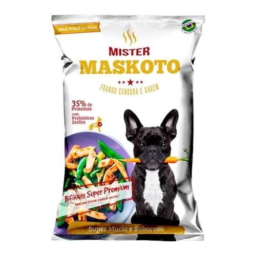 Petisco Bifinho Maskoto Frango, Cenoura e Vagem para Cães 60g
